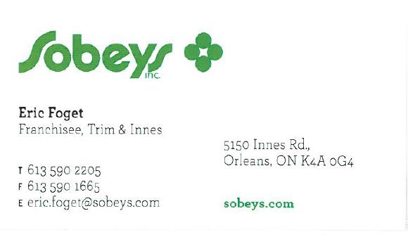 Sobey's – Trim & Innes